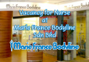 Vacancy for Nurse at Marie France Bodyline Sdn Bhd