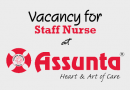 Vacancy for Staff Nurse at Assunta Hospital Petaling Jaya