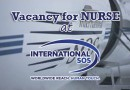 Vacancy for Nurse at International SOS (M) Sdn Bhd