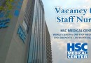 Vacancy for Staff Nurse at HSC Medical Center (KL) Sdn Bhd