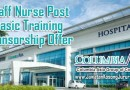 Staff Nurse Post Basic Training Sponsorship Offer at Columbia Asia Group of Companies