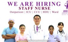 Vacancy for Staff Nurse at iHEAL Medical Centre