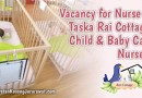 Vacancy for Nurse at Taska Rai Cottage, Child & Baby Care Nursery
