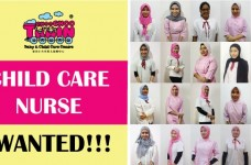 vacancy for child care nurse at choo choo train baby child care centre