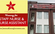 jawatan kosong jururawat di starlight confinement care center